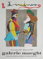 Richard Lindner Originallitografisk plakat - klik for at l�se mere