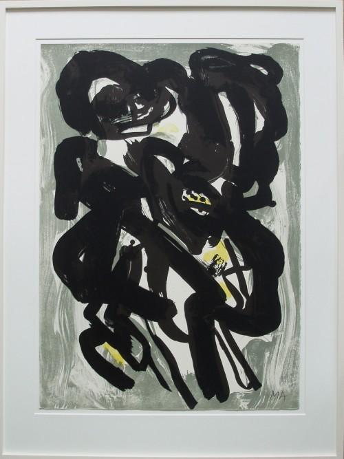litografi kunst abstrakt