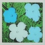 Andy Warhol Flowers, 1970. Originalserigrafi - klik for at l�se mere