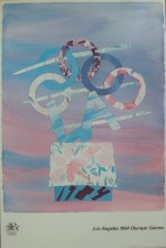 Billy Al Bengston Originalplakat. Los Angeles 1984 Olympic Games - klik for at l�se mere