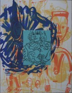 David Salle Lively Iris, #4, 1992 - klik for at l�se mere